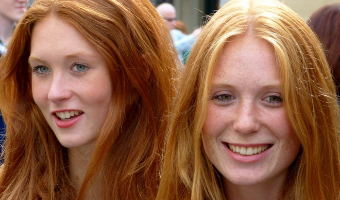 Полная чушь: рыжие и блондины «вымирают».