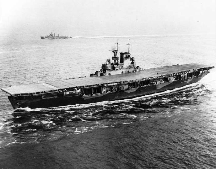 USS Wasp – пропавший конвоир.