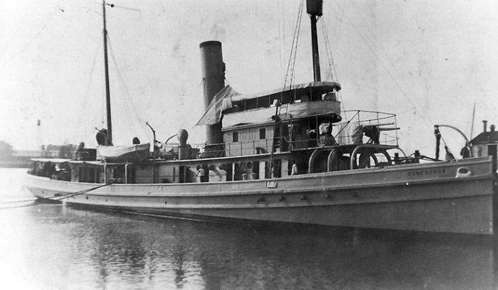 USS Conestoga – пропавший тральщик.