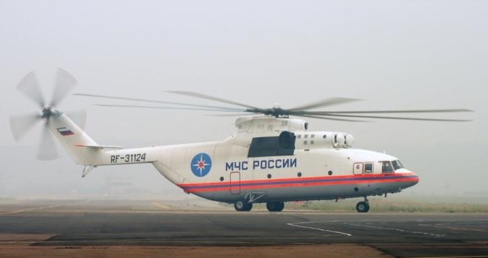 Самый грузоподъемный вертолет Ми-26.