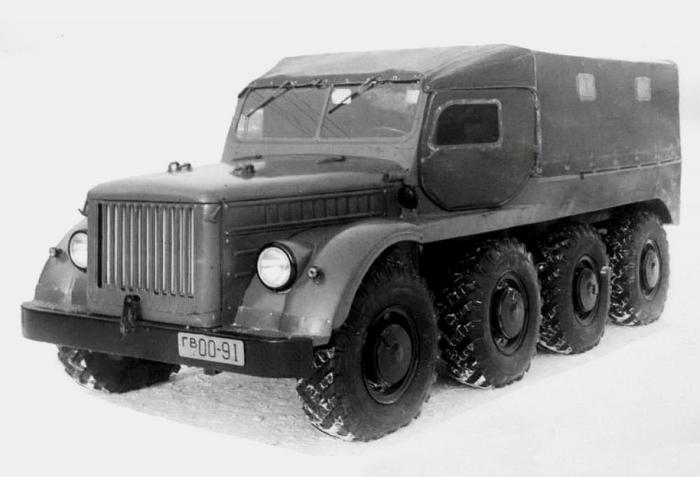 Исключительно экспериментальный вездеход ГАЗ-62Б.