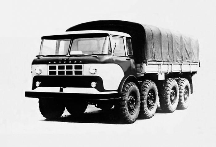 У КАЗ-604Б все было плохо из-за слабой разработки.