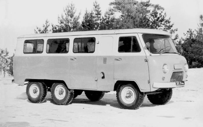Машина УАЗ-452К не проект любителей.
