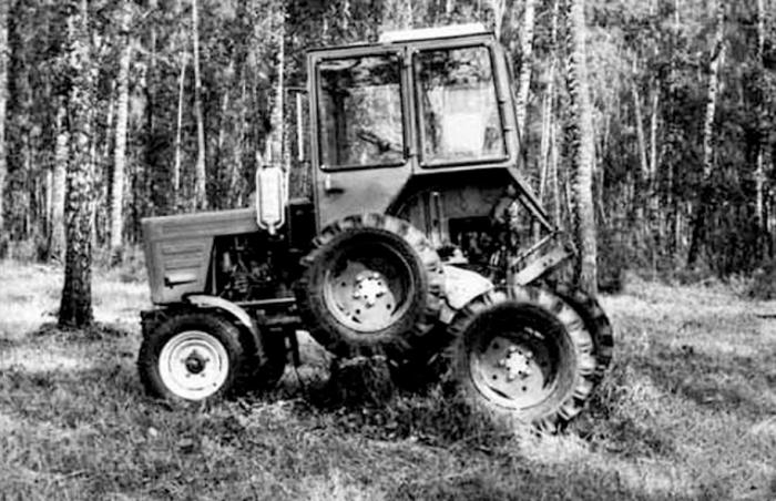 Смелая попытка создать трактор АЛК-25М для пожаротушения.