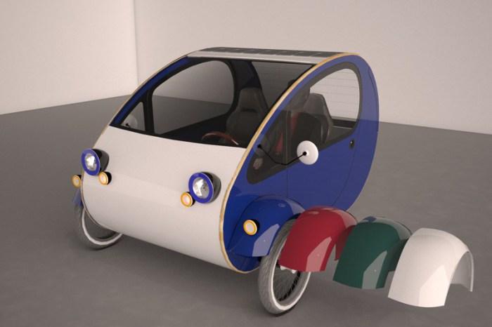 Мини-автомобиль МО от дизайнеров Evovelo.