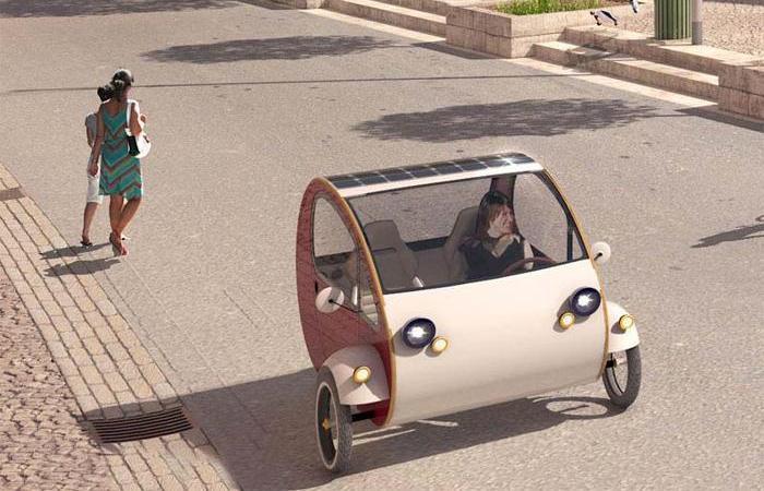 Мини-автомобиль МО - идеальный транспорт для города.