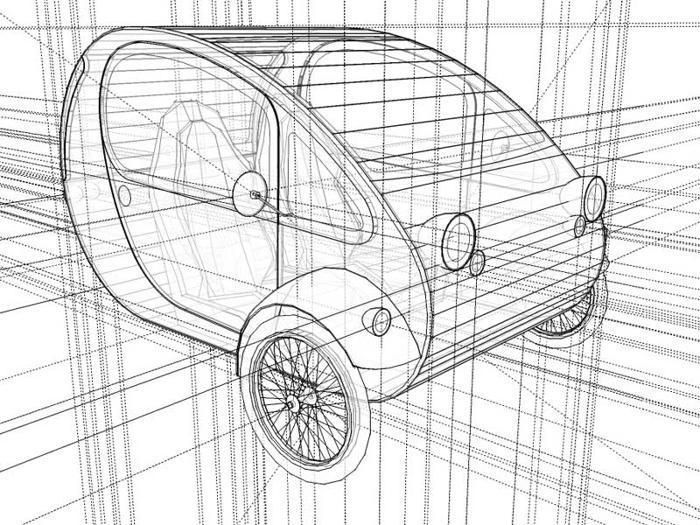 Концепт мини-автомобиль МО.