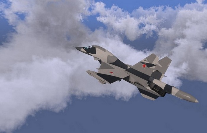 СУ-34 может нести ядерное оружие.