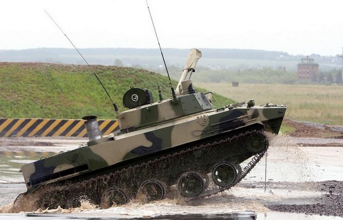БМД-4М Бахча предназначенная для использования десантом.