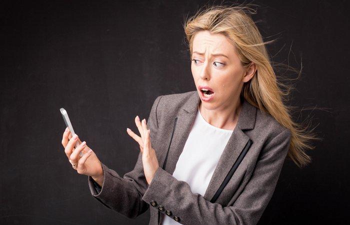 Мобильные телефоны вызывают номофобию.