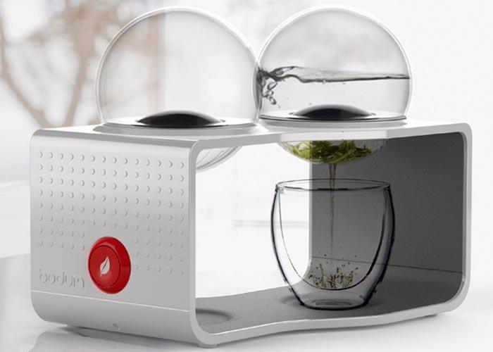 Современная кухня: кофеварка BODDUM COFFE & TEA MAKER.