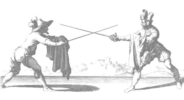 Плащ использовался для фехтования. ¦Фото: yaustal.com.