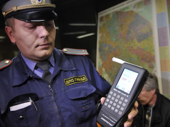 Полицейский разбираться не будет. |Фото: Twitter.