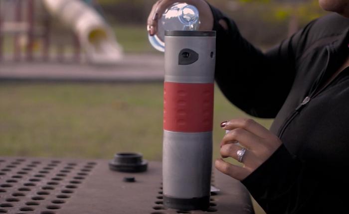 Портативная кофеварка-термос для тех, кто не сидит дома.