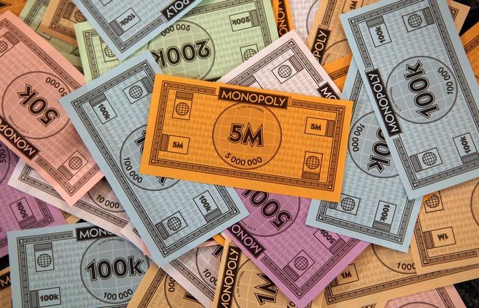 Деньги Монополии.