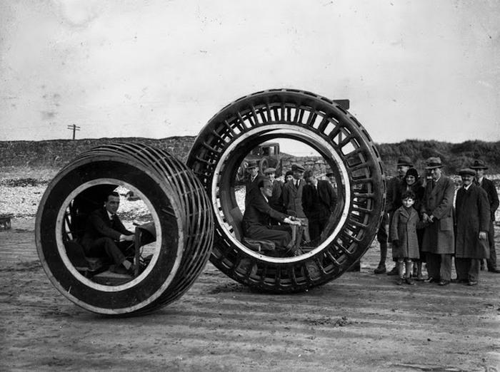 Dynasphere - колесо с большими возможностями.