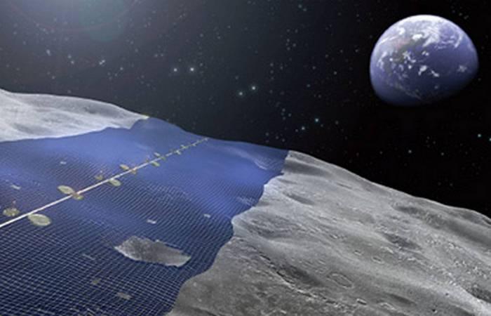 На лунном экваторе температура колеблется от -173 ночью до плюс +127 градусов Цельсия днем.