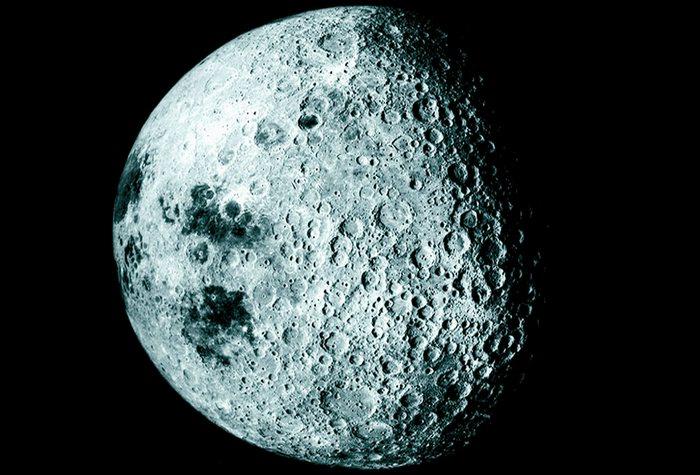 Другая сторона Луны.
