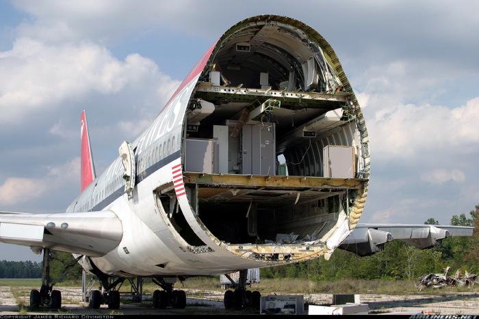 Все дело в толщине фюзеляжа. |Фото: cargo80.com.