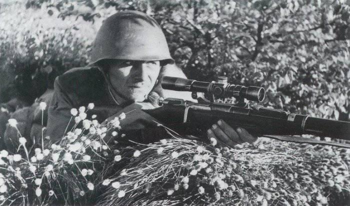 Популярна была среди снайперов.