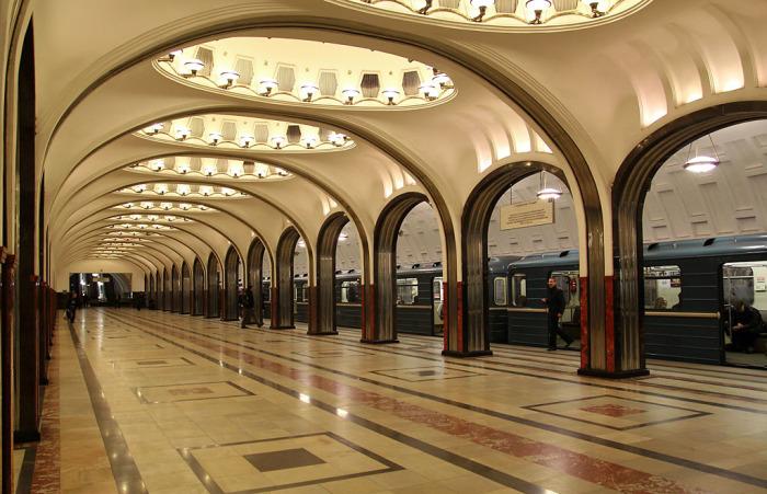 Московское метро сегодня.
