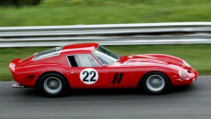 1962 Ferrari 250 GTO.