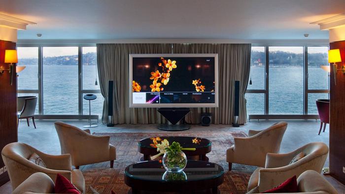 Royal Penthouse Suite, Hotel President Wilson в Женеве.
