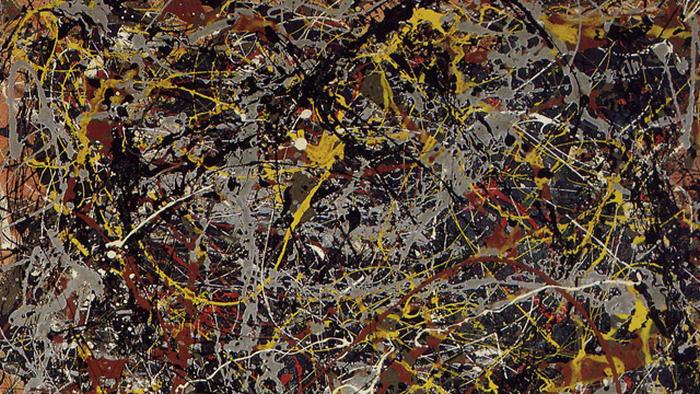 «Номер 5», Джексон Поллок, 1948.