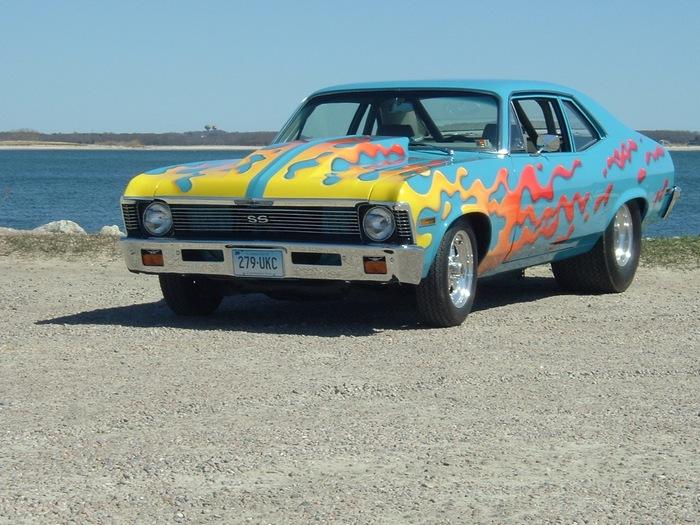 Chevrolet Nova SS - последняя в линейке.