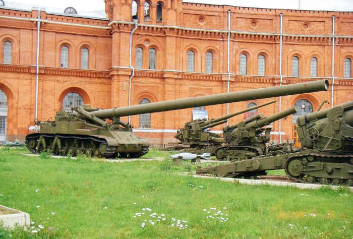 Атомная пушка  2Б1 «Ока».