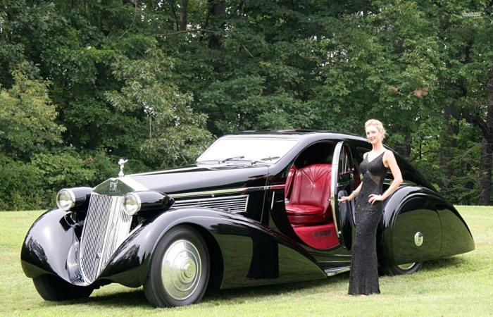 Роскошные автомобили из истории.