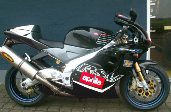 Aprilia RSV 1000R Mille - 281 км/ч.