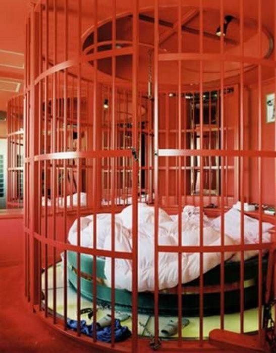 Звери в клетке.