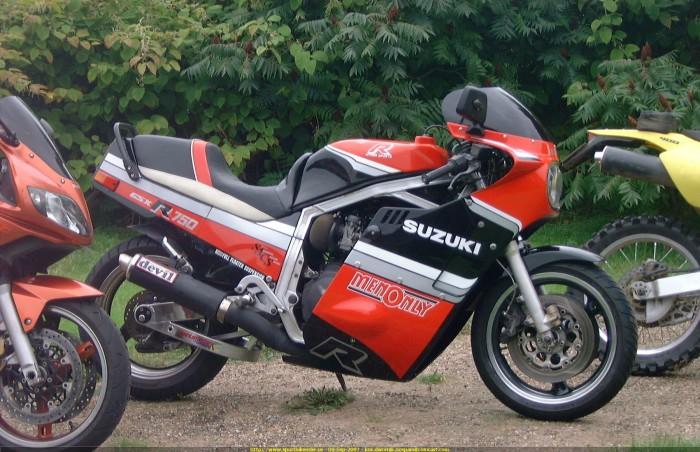 Suzuki GXS-R 750.