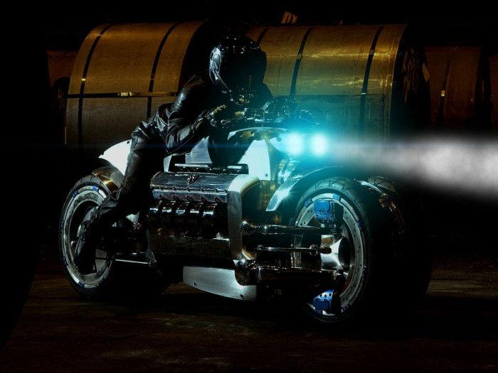 Dodge Tomahawk - 675 км/ч.