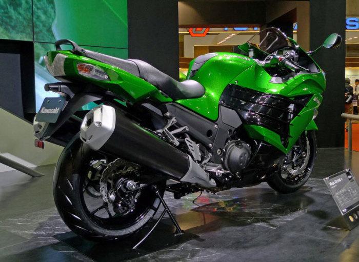 Kawasaki Ninja ZX-14R - 299 км/ч.