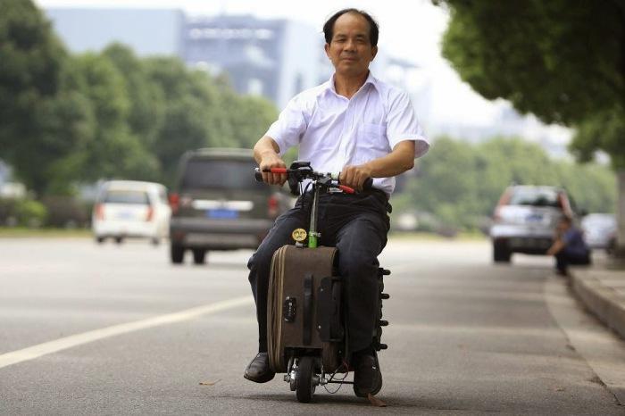 Городской транспорт по-китайски.