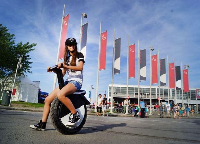 Moto Pogo - моноцикл на электродвигателе.