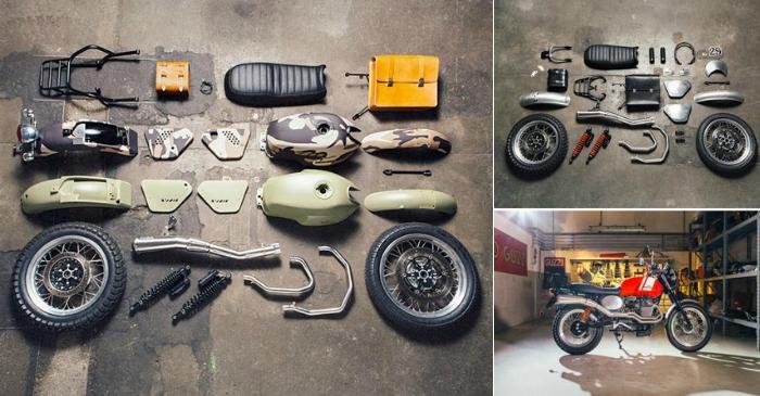 Дизайнерские комплекты для фанатов мотоциклов.