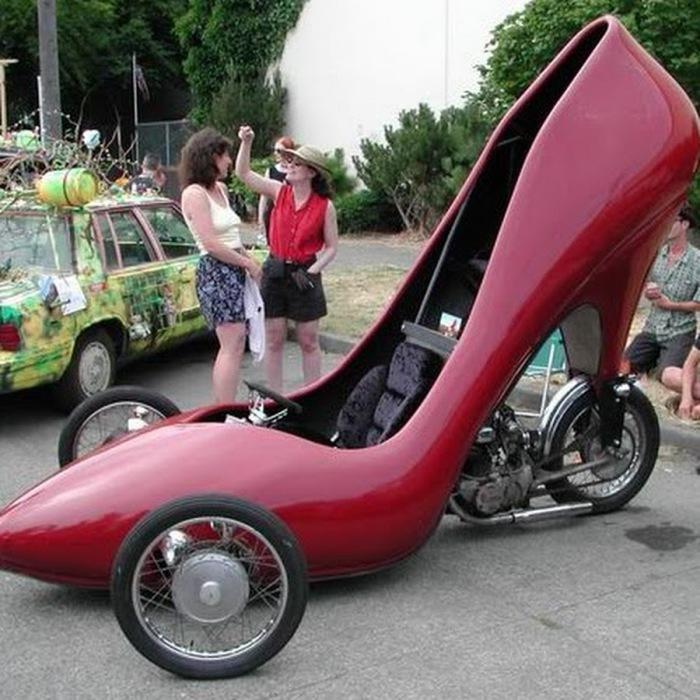 Моторизованные туфли.