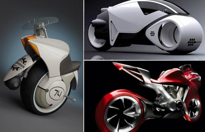 Футуристические концепты мотоциклов.