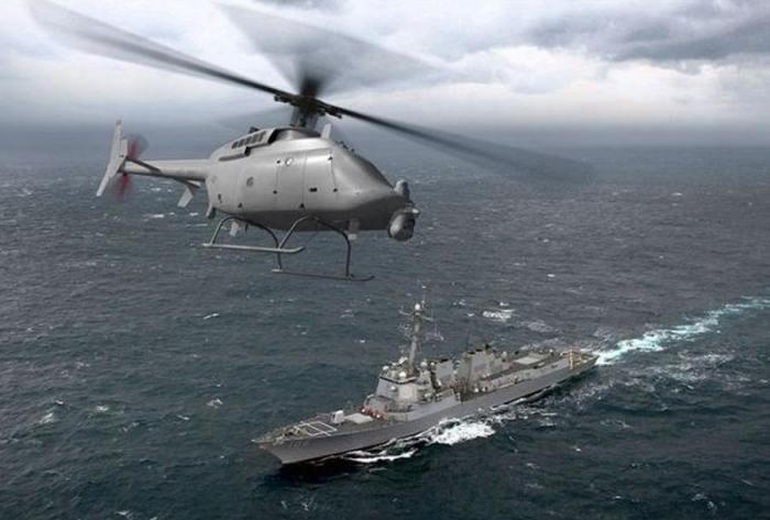 Многоцелевой беспилотник на вооружении ВМФ США.