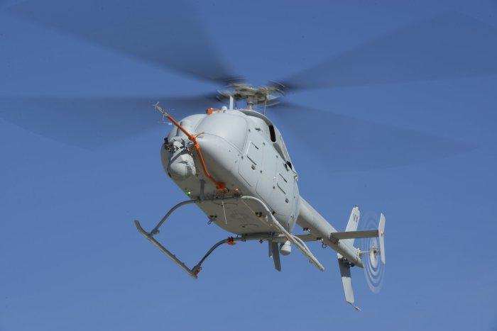 Динамичный многоцелевой беспилотный вертолет.