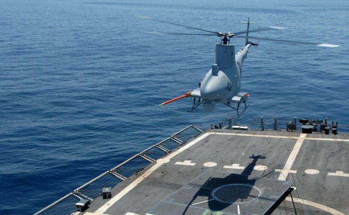 MQ-8C готов к боевому применению.