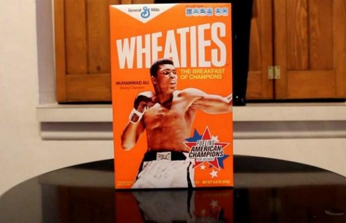 Сухие завтраки Wheaties.