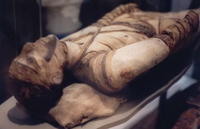 Первая мумия в истории.