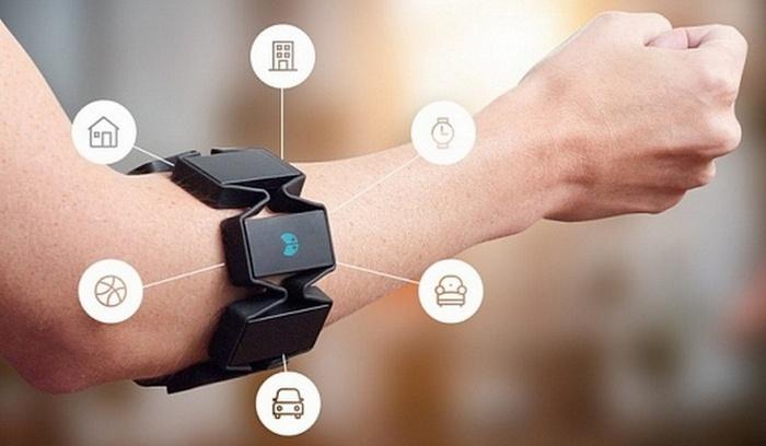Myo - браслет для управления жестами .