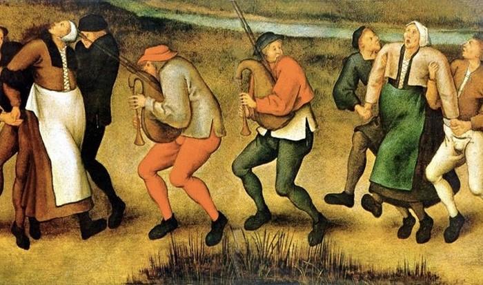Загадочная болезнь: танцевальная чума.