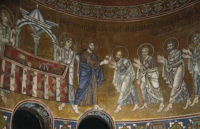 Мозаика Святой Софии в Киеве.
