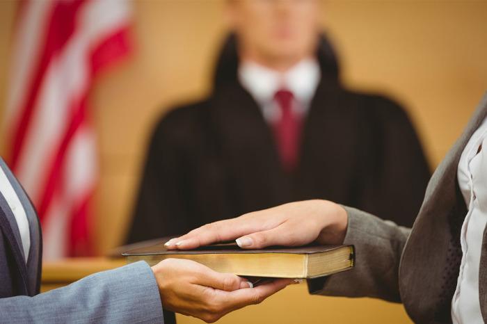Понятых могут вызвать в суд. |Фото: kormed.ru.